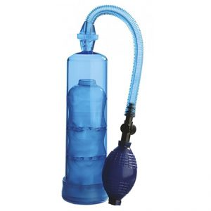 Nanma Extreme Enlargement Pump Cylinder Blue 7.5in