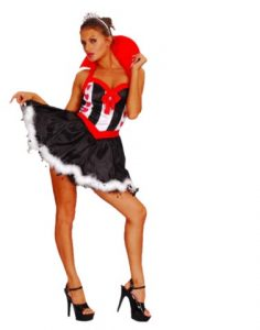 Queen of Hearts FancyDress  Costume