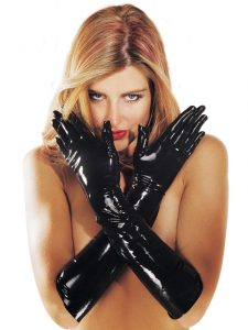 Sharon Sloane Latex Gauntlets / Gloves