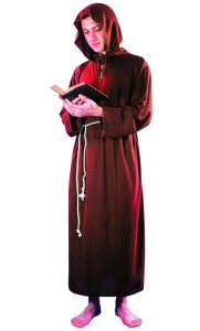 MENS THE MONK FANCYDRESS COSTUME