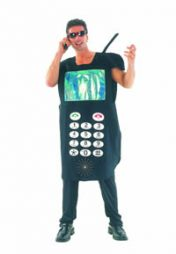 Mens Fancydress  Mobile Phone Costume
