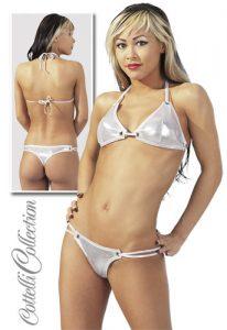 Silver Bikini size Large