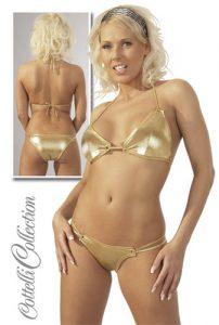 Sexy Gold Bikini size medium