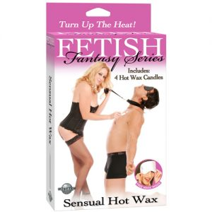 Fetish Fantasy Sensual Hot Wax Candle Kit