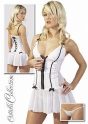 Sexy Babydoll Dress by Cottelli Collection (Large)