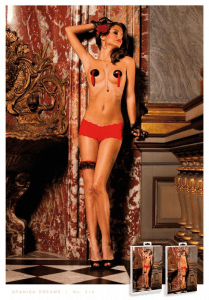 Baci Lingerie Red Lace Boyshorts