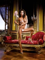 Baci Lingerie LowRise VString Pink Thong