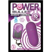 10 Function Remote Control Power Egg- PURPLE