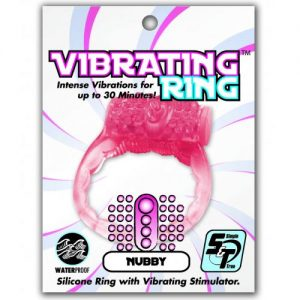 Simple And True Nubby Cockring - Vibrating Ring