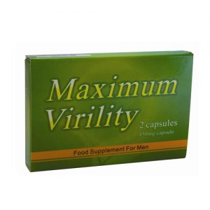 Virility Max 2 Capsules 450mg Male Supplement