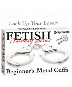 Fetish Fantasy Series Beginner's Metal Cuffs