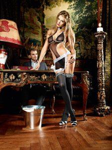 Service Me French Maid Set Baci Lingerie