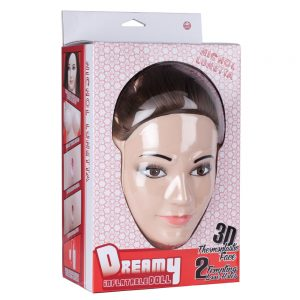 Nichol Lunetta Dreamy 3D Face Love Doll Flesh