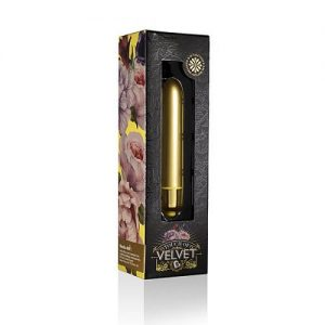 Rocks Off Touch Of Velvet 10 Function Bullet Vibrators Sunflower Summer